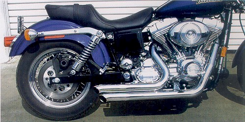harley exhaust & Dyna Style Exhaust by Samson for Harley Davidson